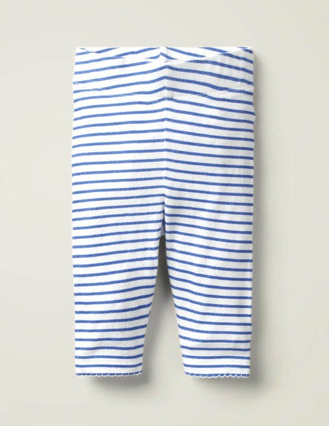 Essential Baby Leggings - Sky Blue/Ivory