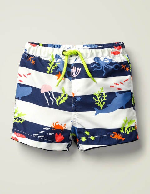 Printed Bathers - Multi Under The Sea
