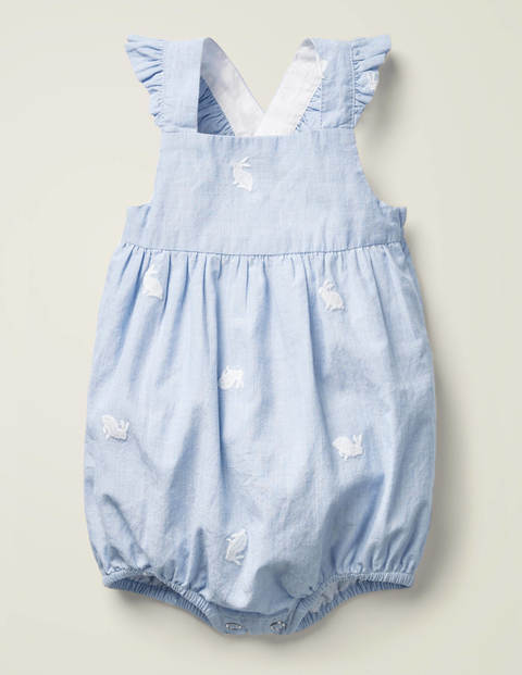 Frilly Bubble Romper - End on End Bunnies