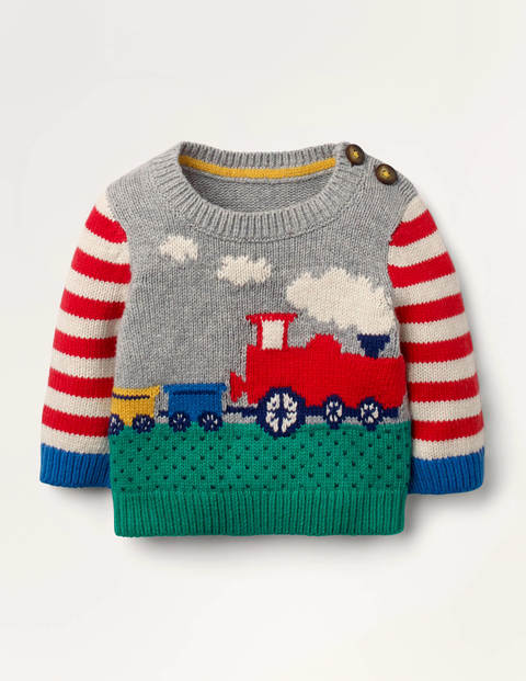 Fun Knitted Sweater