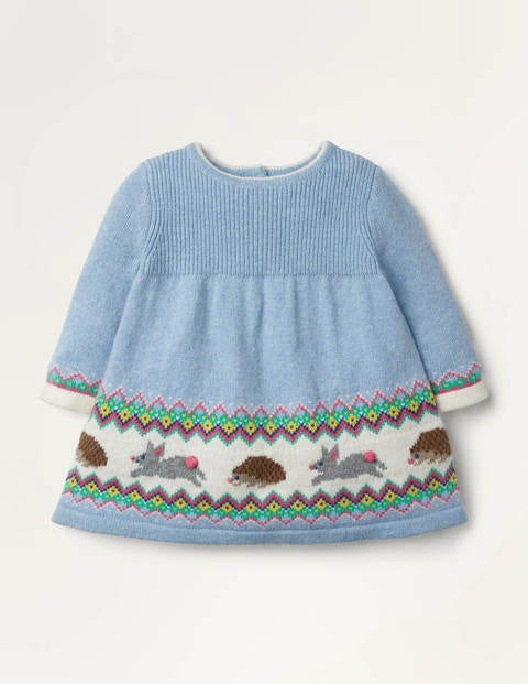 Fair Isle Knitted Dress