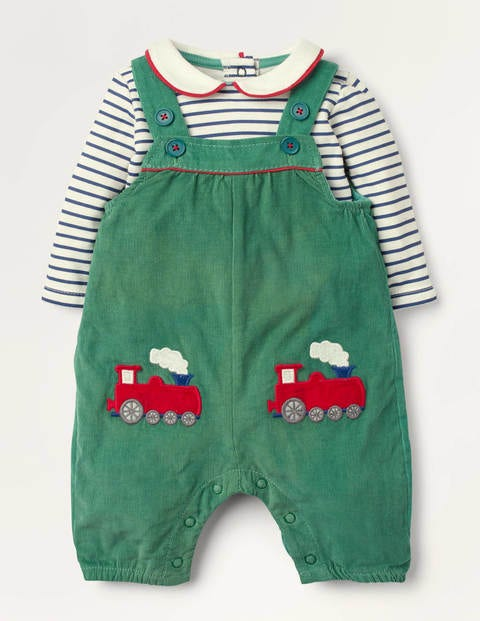 Smart Dungaree Set