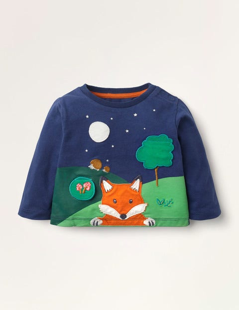 Woodland Lift-the-flap T-shirt