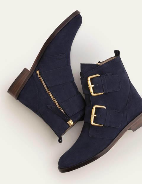 Cavenham Ankle Boots - Navy