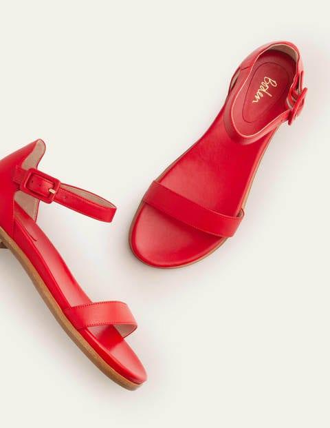 Katie Comfort Sandals - Red