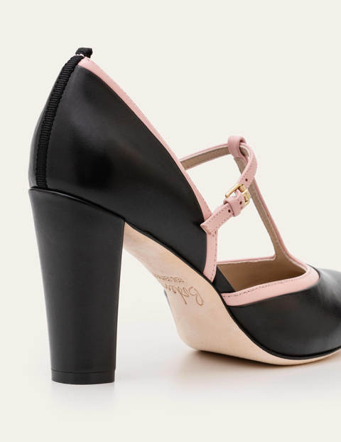 Ladies Spot On Mid Heel T Bar /'Sandal/'