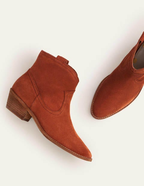Allendale Ankle Boots - Red Oak