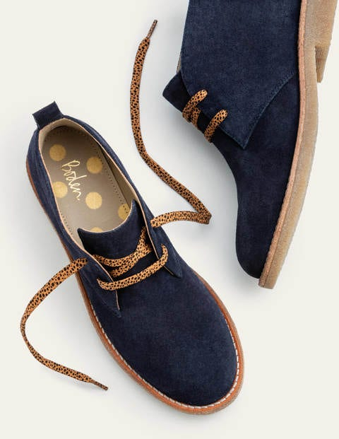 Cornwall Ankle Boots - Navy