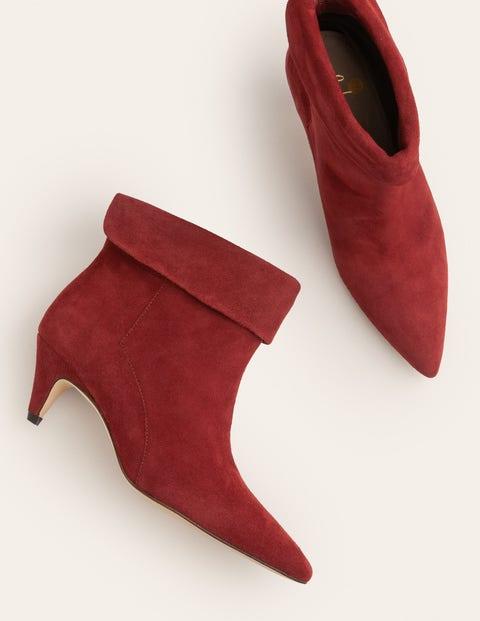 Haddington Ankle Boots - Maroon