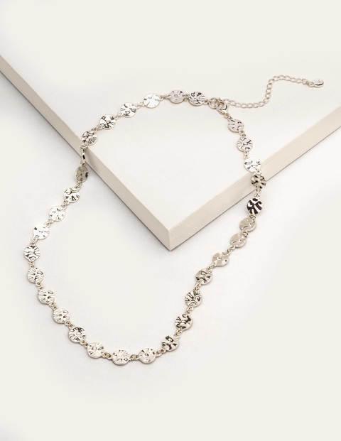 Mini Disc Shortline Necklace