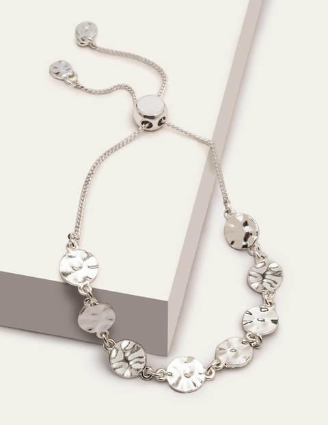 Mini Disc Bracelet - Silver Metallic