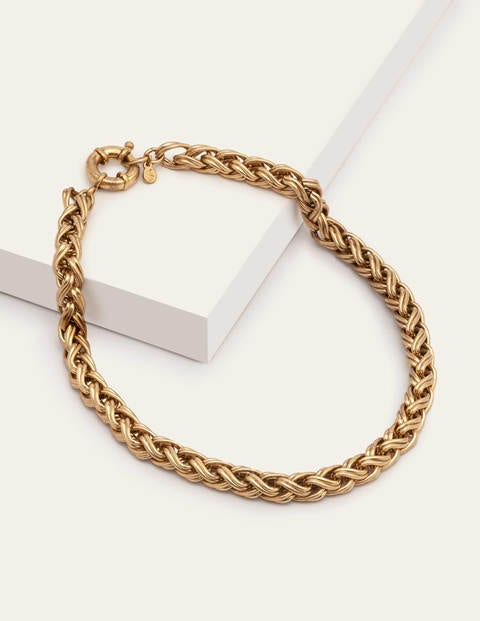 Chain Necklace - Antique Brass