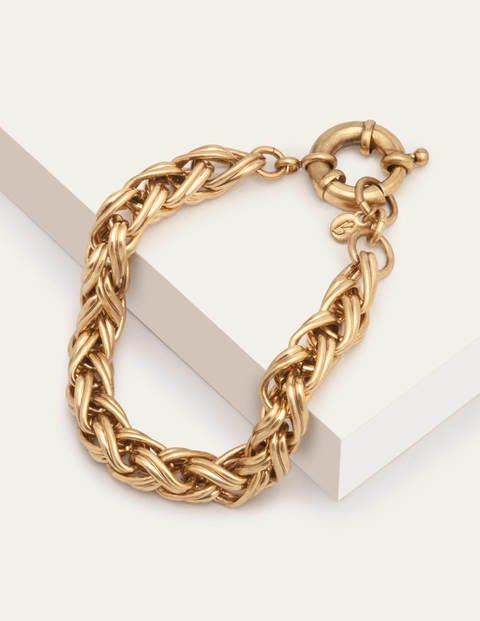 Chain Bracelet - Antique Brass