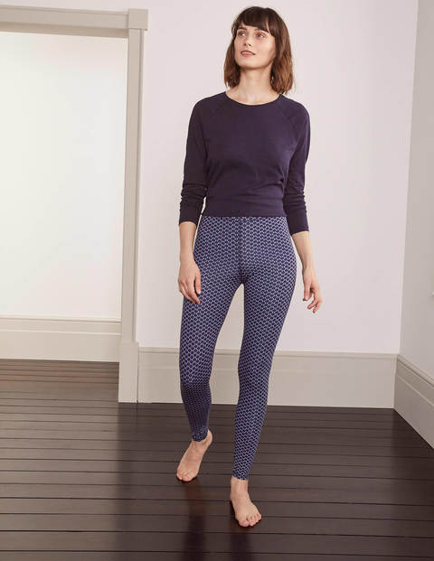 Lieblingsleggings - Navy, Knospen