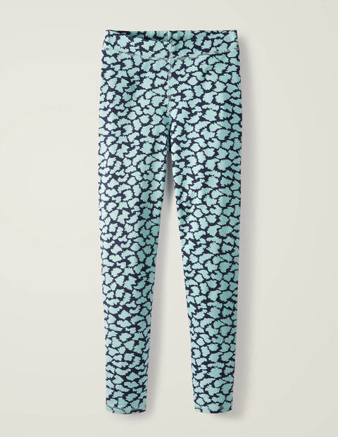 Favourite Leggings - Icicle Green, Abstract Brush
