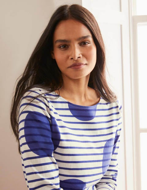 Long Sleeve Breton - Blue Gem Spot