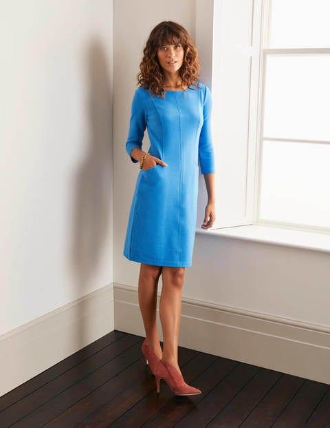Ellen Ottoman Dress - Moroccan Blue