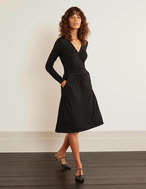 Layla Jersey Dress - Black