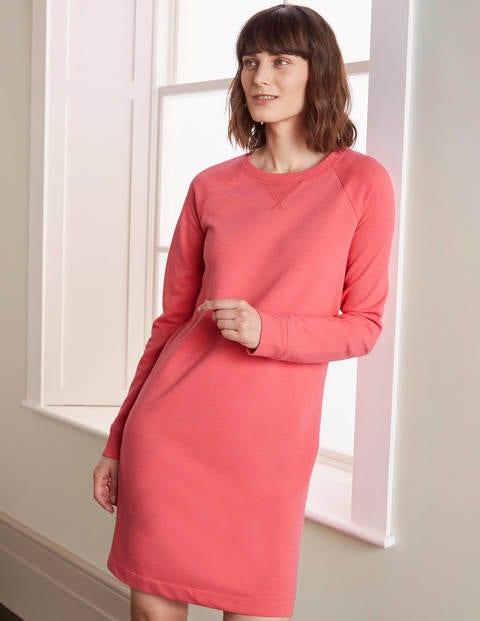 Ava Sweatshirt-Kleid - Bonbonrosa