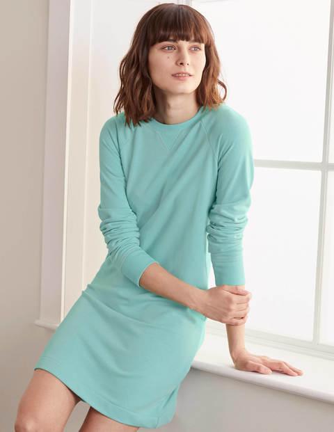 Ava Sweatshirt Dress - Icicle Green