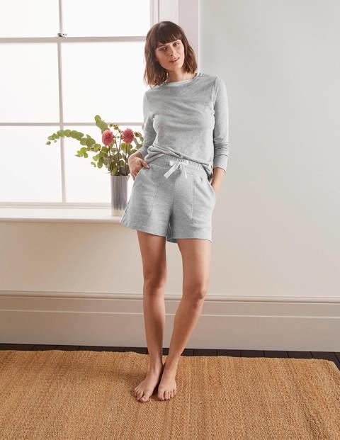 Thelma Jersey Shorts - Grey Marl
