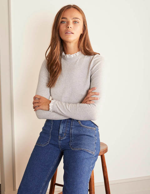 Lincoln Frill Neck sweater
