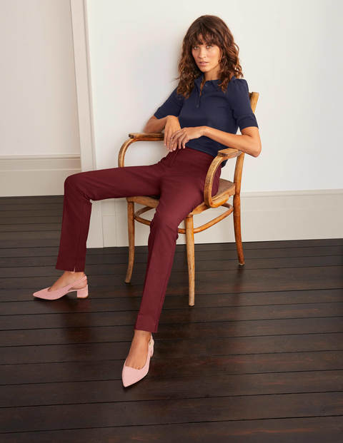 Richmond Pants - Maroon