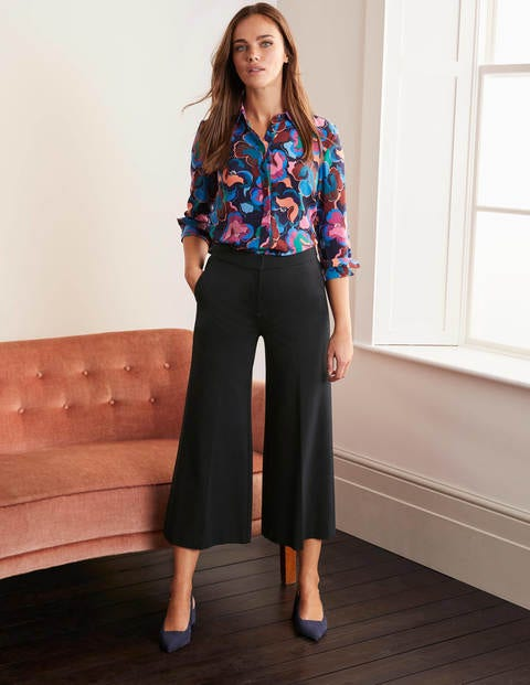 Hampshire Ponte Culottes - Black