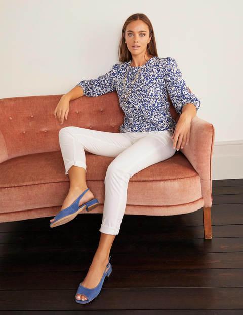 Daisy Chino Trousers - White