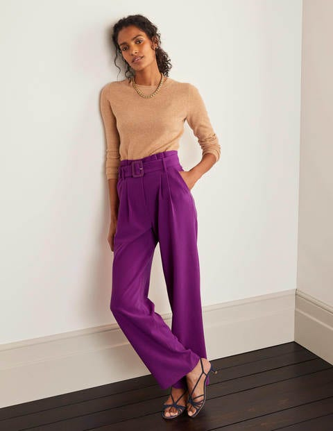 Powis Wide Leg Trousers