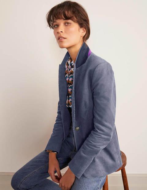 Davies Cord Blazer - Cobble Grey