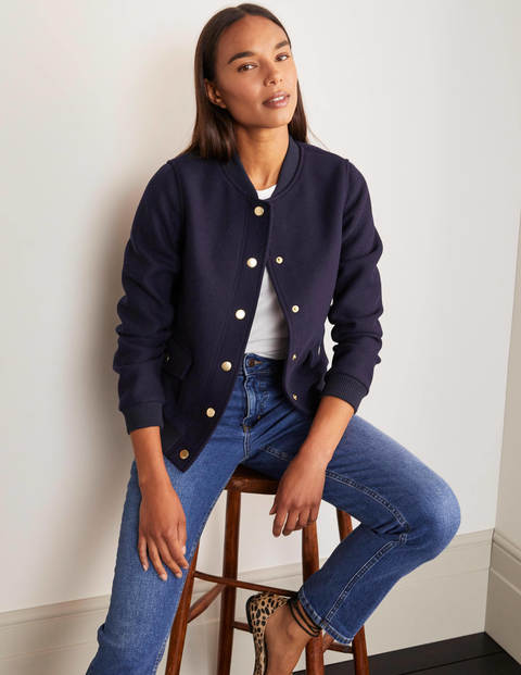 Baillie Bomber Jacket - Navy