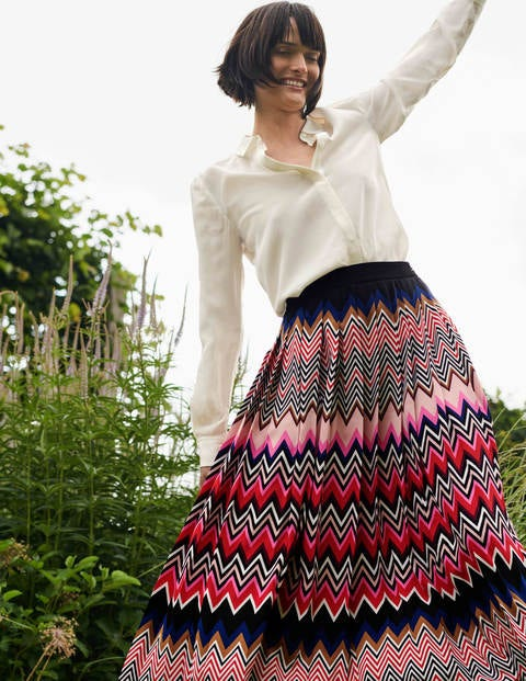 Musgrove Pleated Skirt