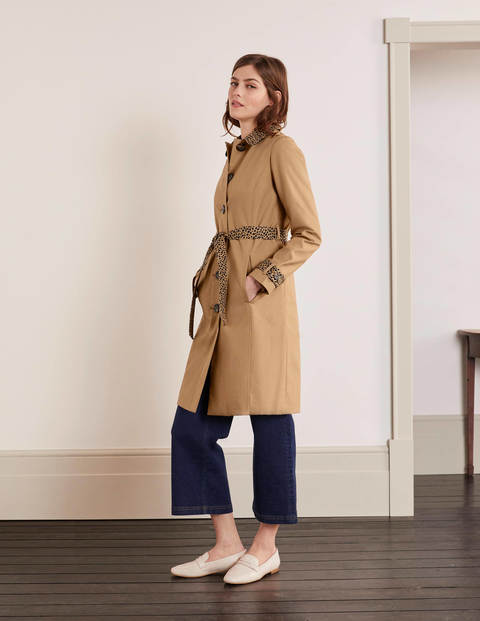 Mark Trench Coat - Camel