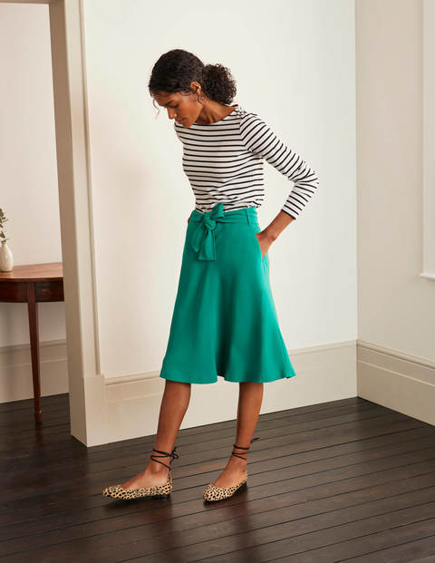 Morland Belted Skirt - Wild Meadow