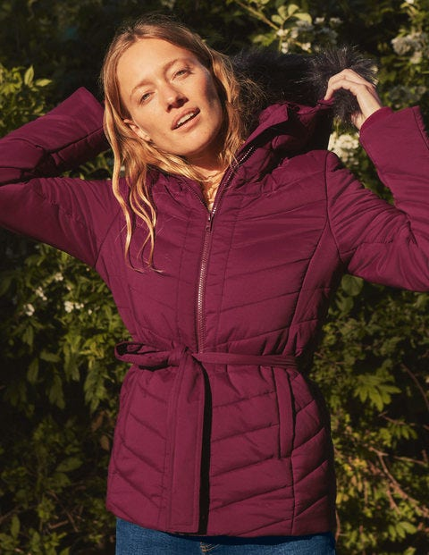 Cranbrook Puffer Jacket - Ruby Ring
