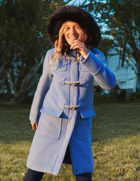 Orme Duffle Coat - Frosted Blue