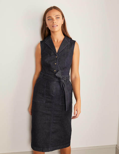 Edith Dress - Rinse Indigo