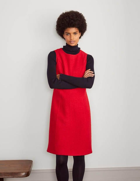 Sophia Wool Shift Dress