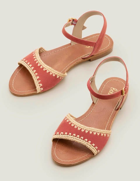 Layla Sandals - Rouge