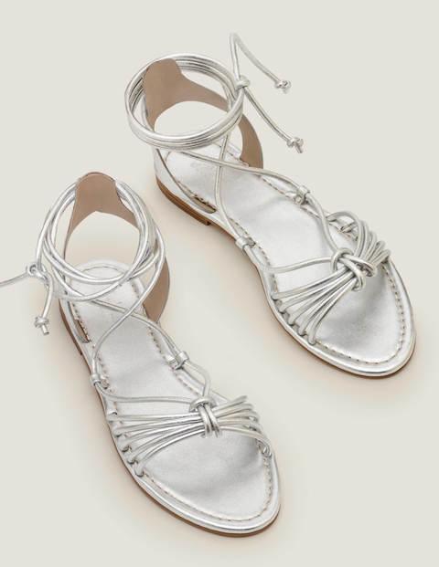 Sandales spartiates Lucinda - Argenté métallisé