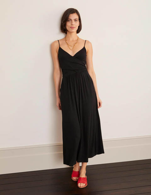 Hope Jersey Midi Dress - Black