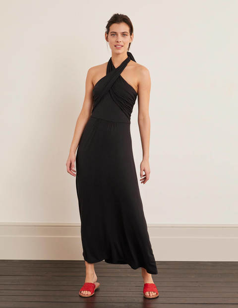 Lilah Maxi Multiway Dress - Black