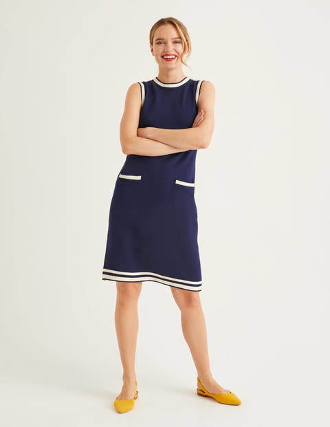 Mira Stitch Cotton Dress