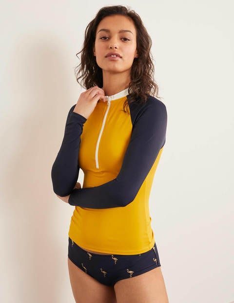 Zip Up Rash Vest