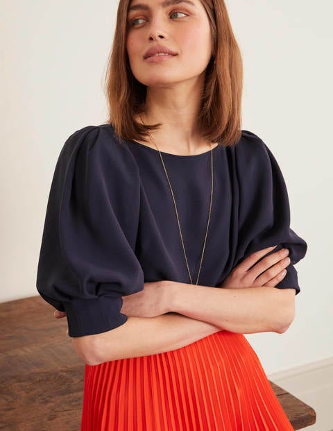 Olwen Top - Navy