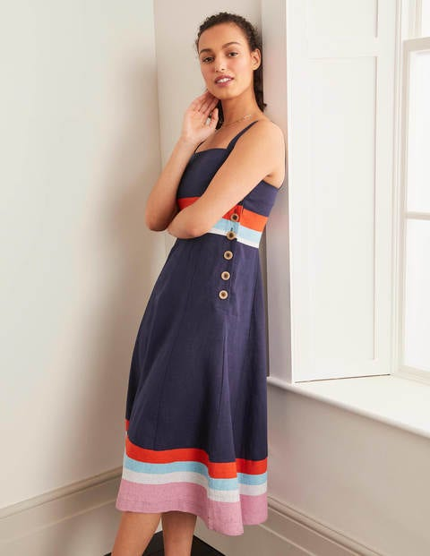 Willa Button Midi Dress