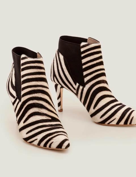 Elsworth Ankle Boots - Zebra | Boden US
