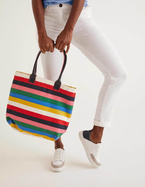 Holywell Tote Bag - Multi stripe