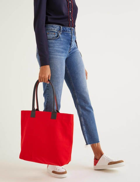 Holywell Tote Bag - Post Box Red